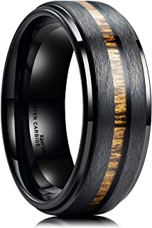 Best matte black wedding bands for men Reviews