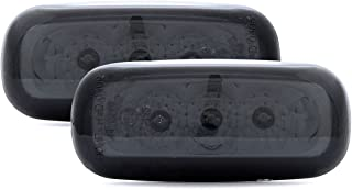 Black Smoke LED Side Marker Lights Turn Signals For Audi A4/ S4 B5 + A6 C5 + A8 + TT 98-06