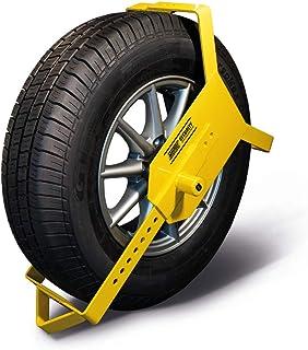 """MAYPOLE Heavy Duty Wheel Clamp 10-16"""""""