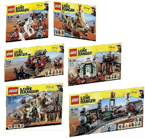 Lego Lone Ranger Set 79106 79107 79108 79109 79110 79111