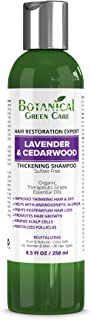 """Hair Growth/Anti-Hair Loss Sulfate-Free Shampoo """"Lavender & Cedarwood"""". Alopecia Prevention and DHT Blocker. Doctor Developed. NEW 2018 FORMULA!"""