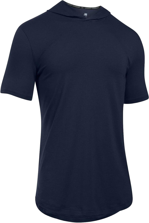 unisex Under Armor Austin Mall Men's Hooded T-Shirt Baseline