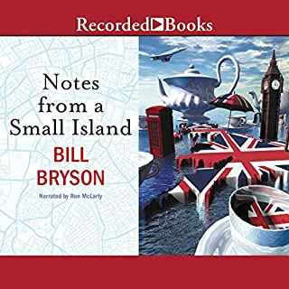 Notes from a Small Island audiobook cover art