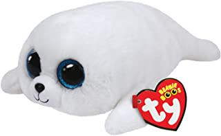 Ty ICY Seal Plush, White, Large