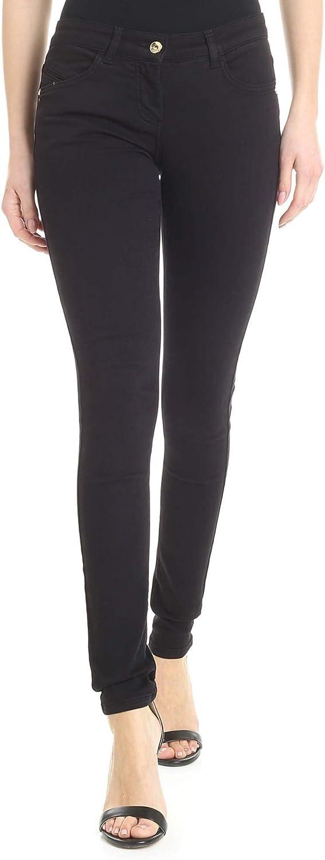 Patrizia Pepe Women's BJ1186AS04K103 Black Cotton Jeans