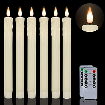 10er Light Chain 3x Topkerze 24 V 3W E10 Indoor Pointed Candle Fluted Candle F