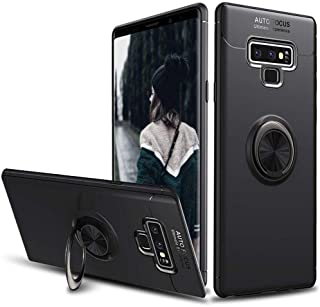 Samsung Galaxy Note 9 with Ring Kickstand Cover Holder Stander 360 Degree Adjustable Grip and Metal Compatible with Magnet...