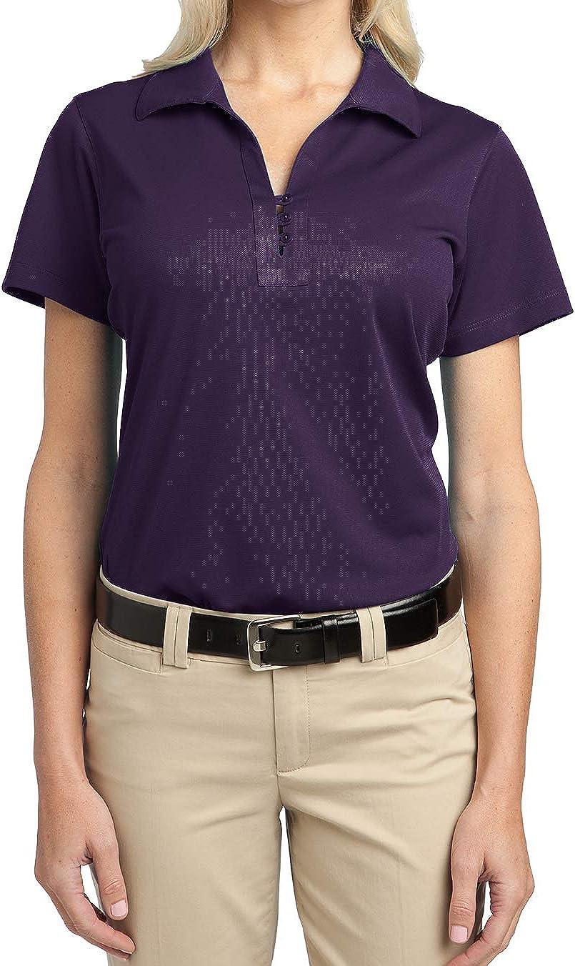 Mafoose Women's Tech Pique Polo T-Shirt