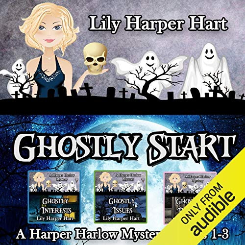 Ghostly Start audiobook cover art