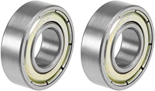 color plateado 30 x 25 cm Sourcingmap Conector flexible de motor de aleaci/ón de aluminio de 6,35 mm a 8 mm