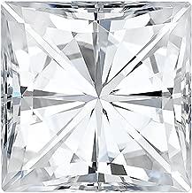 Charles & Colvard Forever Classic 6.0mm Square Brilliant Cut Moissanite Gemstone (J-K color)