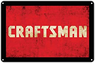 crysss Craftsman Power Tools Handyman Vintage Retro Metal Wall Decor Art Shop Man Cave Bar Pub Aluminum 8x12 inch Sign