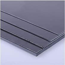 FidgetKute 1 pcs ABS Styrene Plastic Flat Sheet Plate 4mm x 200mm x 250mm, Black #EH-6