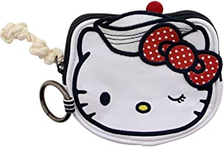 Hello Kitty Coin Purse Faux Leather Head Style