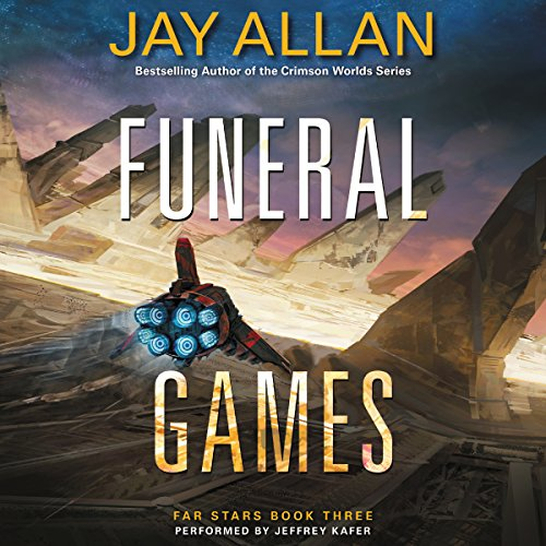Funeral Games audiobook cover art