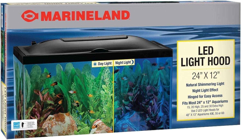 Perfecto Manufacturing 972101 24 in. x 12 in. Led Aquarium Hood