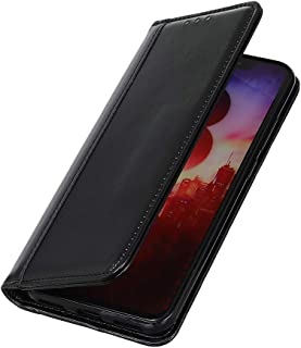 BRAND SET Case for OnePlus 7T Pro Case Wallet Style Faux Leather Flip Case with Secure Magnetic Closure Lock and Bracket F...