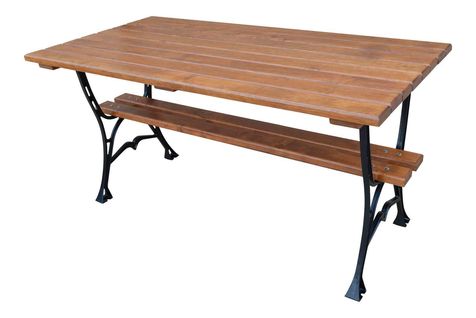 Krakwood - Mesa de jardín (rectangular, madera): Amazon.es: Jardín