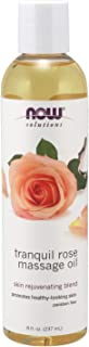 Now Foods Tranquil Rose Massage Oil, 237ml