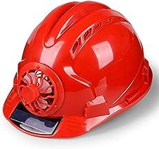 Geventileerde werkhelm voor de bouwplaats, veiligheidshelm met ventilator, geventileerde bouwplaats, zonwering, beschermhe...