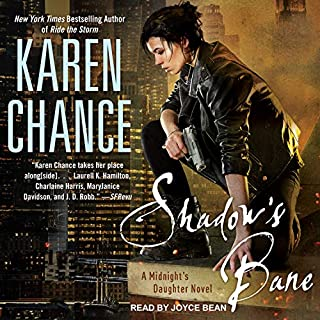Shadow's Bane audiobook cover art