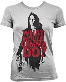 Officially Licensed Merchandise What Would Gemma Do? Girly T-Shirt
