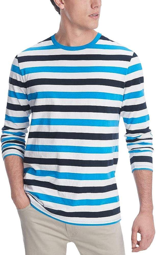 Tommy Hilfiger Mens Long Sleeve Basic Cotton T-Shirt//Tee