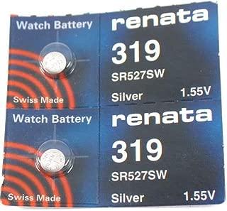 #319 Renata Watch Batteries 2Pcs