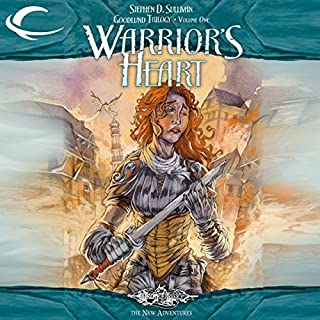 Warrior's Heart audiobook cover art