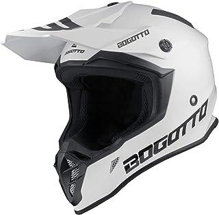 Bogotto V332 Motocross Helm Weiß S