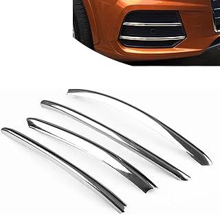 3.2cm L/&U 4 Pezzi in Fibra di Carbonio Auto del davanzale del Portello del Piatto dello Scuff del davanzale della Porta Sticker Protezioni Sticker per Audi A4L A3 A6L Q5L Q3 X3,Blu,46.5