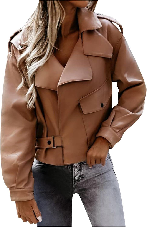 FORUU Winter Coat for Women 2021,Warm Fashion Petite Blazer Splice Long Sleeve Button Outerwear Loose Cardigan Coat