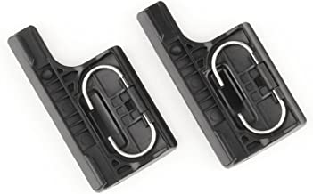 SOONSUN 2-Pack Plastic Rear Snap Latch Standard Waterproof/Skeleton Housing Lock Buckle Replacement for GoPro Hero 4, Hero3+ Protective Housing Case