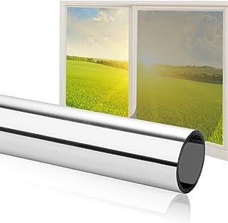 Fortunam - Lámina de protección Solar autoadhesiva para Ventanas, para Interior y Exterior, protección Solar para Dormitorio, protección UV