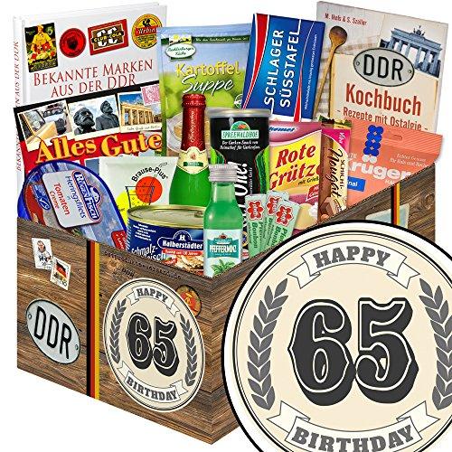 65. Geburtstagsgeschenk + Ost-Paket + Geschenke zum 65 Geburtstag