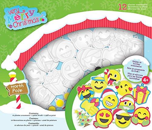 Colorbok 35797Very Merry Christmas Emoji-Pflaster, 12Stück