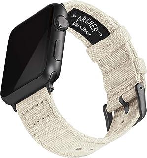 Archer Watch Straps | Correas Reloj Lona para Apple Watch | para Hombre y Mujer, 38/40mm, 42/44mm