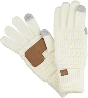 7638b543fd8b Amazon.com  Ivory - Cold Weather Gloves   Gloves   Mittens  Clothing ...