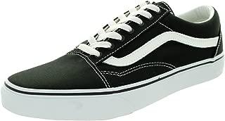 Vans Unisex Old Skool Black/True White Skate Shoe 5.5 Men...