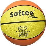 Softee Equipment Softee Balón, Unisex Adulto, Naranja/Amarillo/Negro, 3