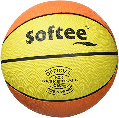 Softee Equipment Softee Balón, Unisex Adulto, Naranja/Amarillo/Negro, 3