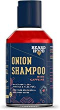 Beardhood Onion Shampoo With Caffeine For Hair Growth & Hairfall Control - Sulfate & Paraben Free, 200ml