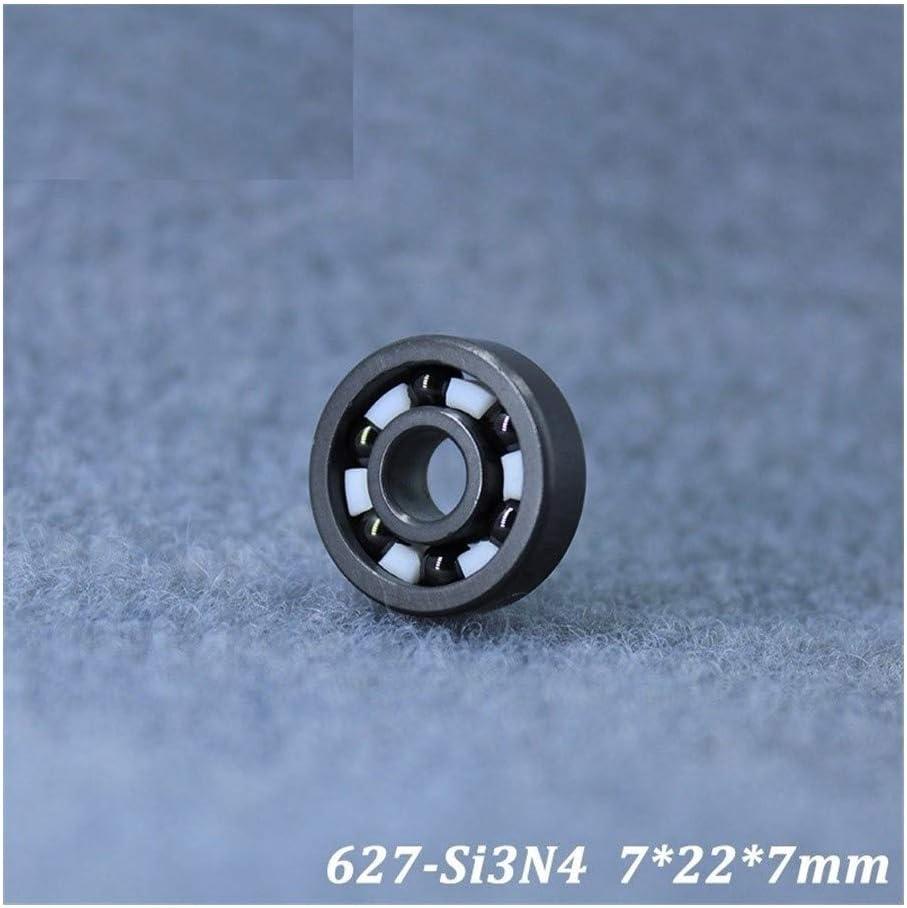 Majhengg 627 627CE Full Ceramic Bearing (1 PC) Si3N4 Material Al