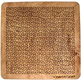 Martin Raynsford Wooden Fractal Tray Puzzle - Wunderlich Curve 3