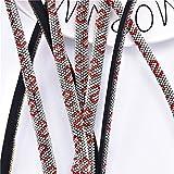 ALXY 5/8 Lignes Rondes Strass Tube enveloppé Coton en Coton Dense Cristal Decor décor de Diamant Garniture Bricolage arcs pour Chaussures de Costumes Mariages Artisanat