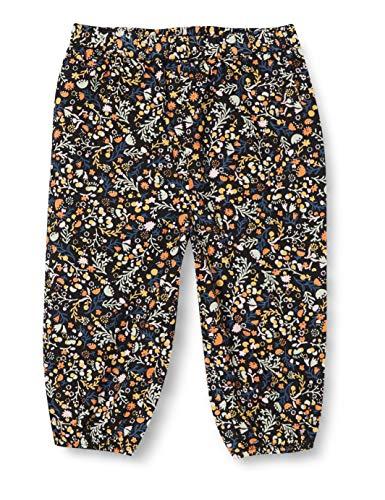 Noa Noa Miniature Baby Organic Ditzy Floral, Trousers,Long Pantaloni, Stampa Multicolore, 6 Mesi Bimba