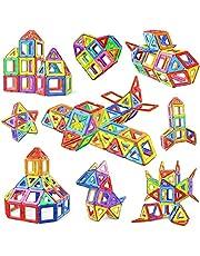 مجموعة مكعبات البناء، مجموعة بناء للاطفال الصغار لبناء منزل لعبة وبناء العاب تعليمية للاطفال الصغار من الاولاد والبنات، 76 قطعة