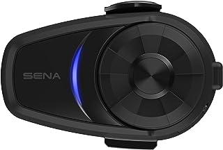 Sena 10S-01D Bluetooth-headset en intercom voor motorfietsen, duplepack, zwart