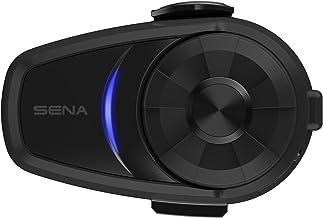 Sena 10S-01D Sistema de comunicación Bluetooth Dual Pack, Paquete Doble, Negro