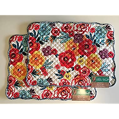 The Pioneer Woman Flea Market Reversible Placemat, 2pk